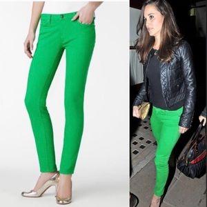 Kate Spade Green Jeans ASO Pippa Middleton, Sz 28